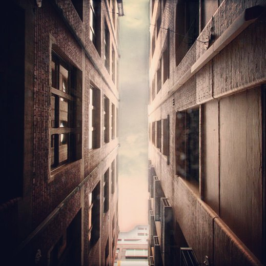 between-buildings
