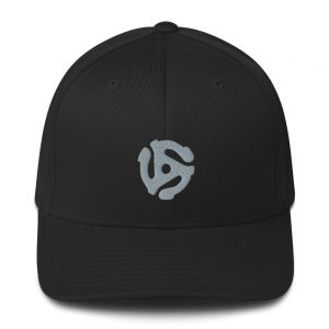 Embroidered 45-Adapter - Flexfit Structured Twill Cap