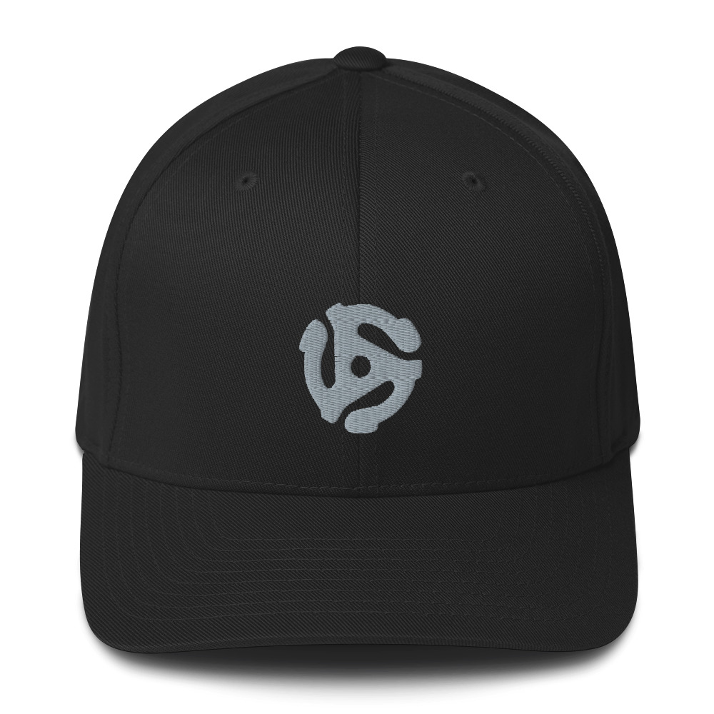 Embroidered 45-Adapter – Flexfit Structured Twill Cap