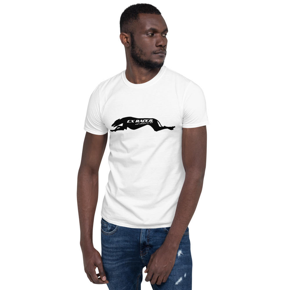 Ex-Racer Greyhound – Short-Sleeve Unisex T-Shirt