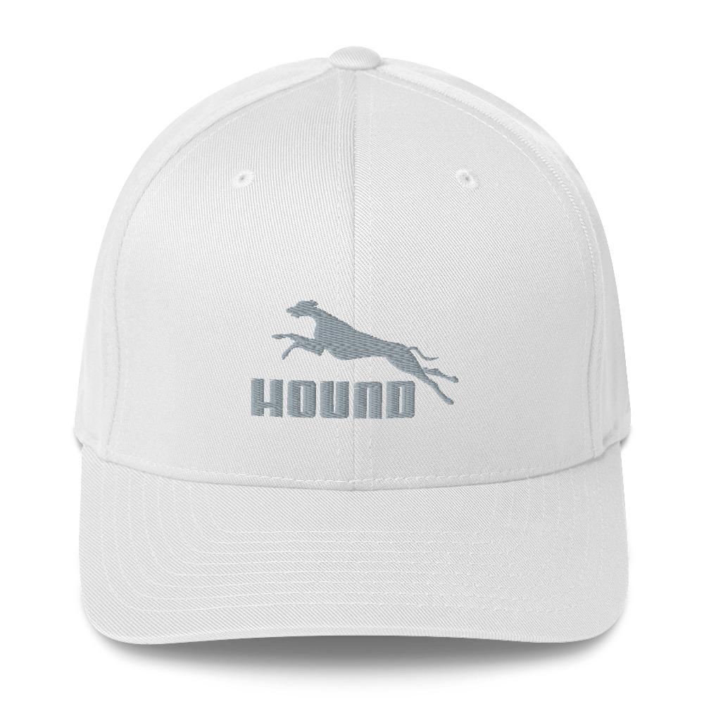 Hound – Embroidered Structured Twill Cap