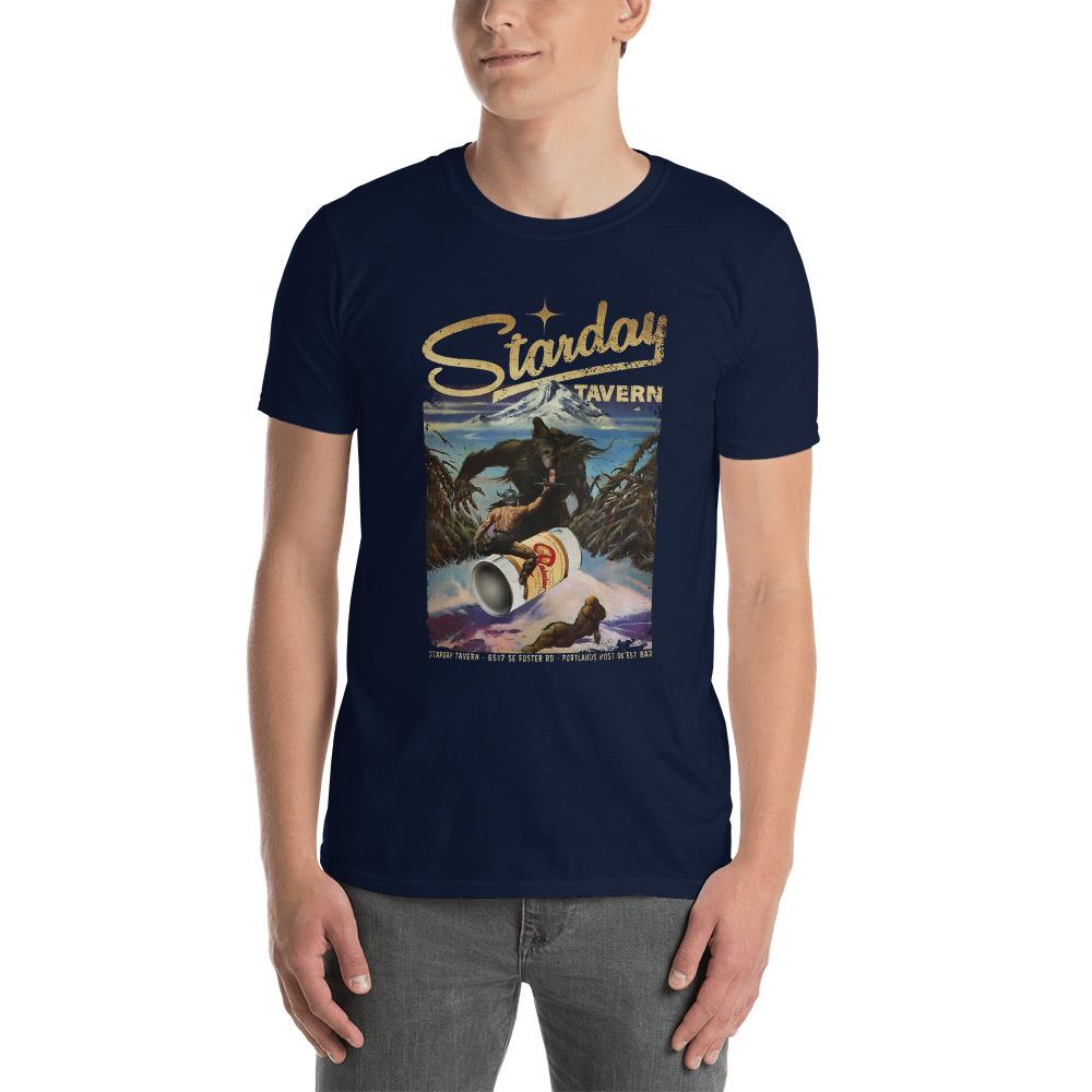 Starday Tavern Portland Martini Short-Sleeve Unisex T-Shirt