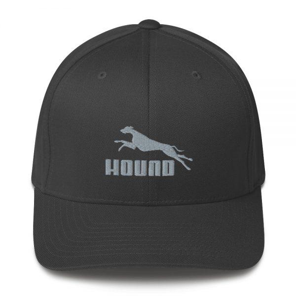 Hound - Embroidered Structured Twill Cap