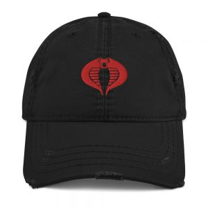 Cobra Distressed Dad Hat