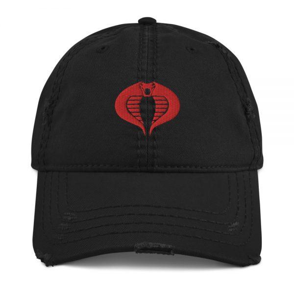 Cobra Distressed Dad Hat