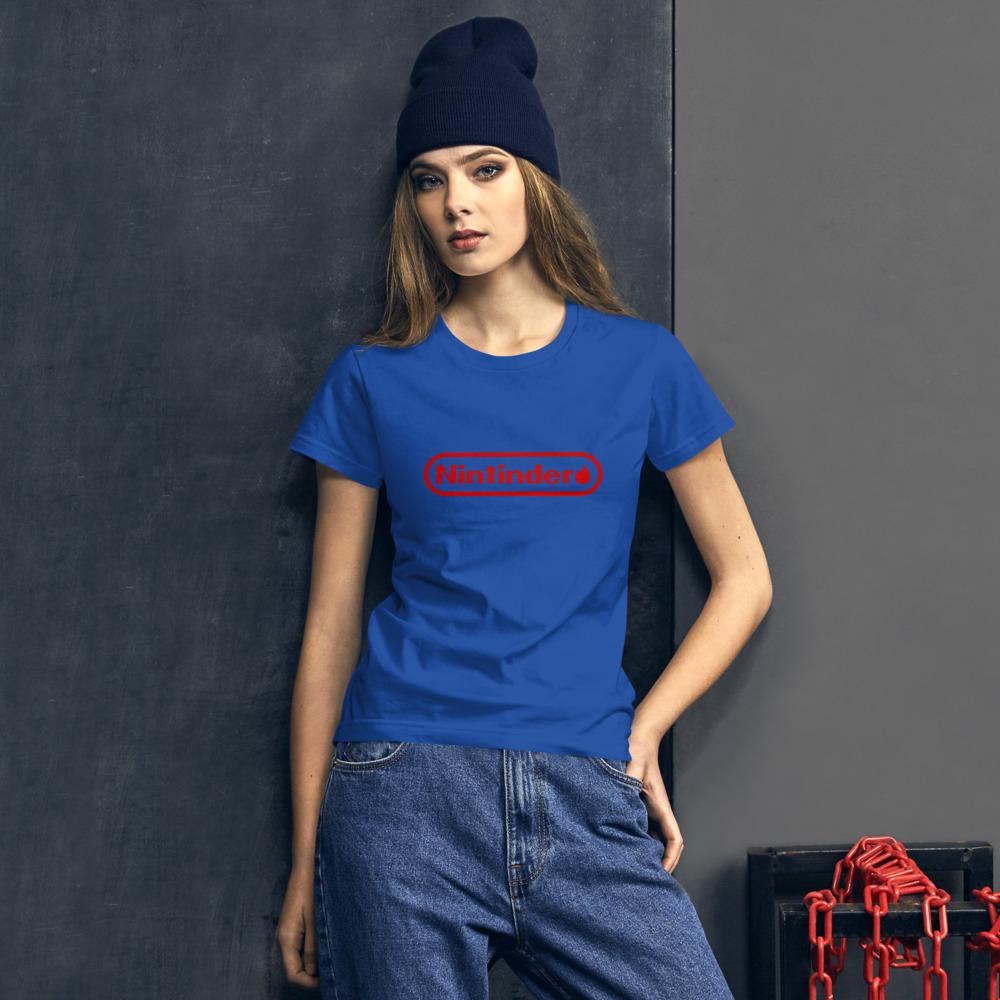 Nintinder – Women's short sleeve t-shirt