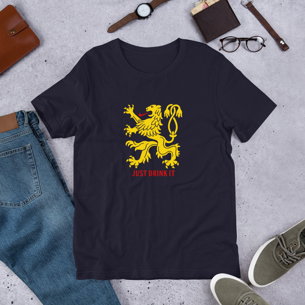 Just Drink It – Short-Sleeve Unisex T-Shirt